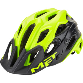MET Lupo Helmet matt safety yellow/black